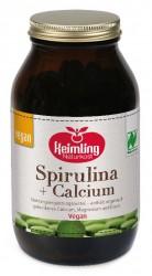 Bio Spirulina + Calcium - Naturland 250g Pulver