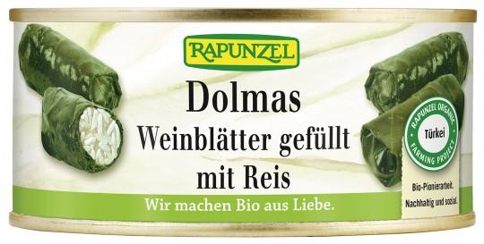 Bio Dolmas, Weinblätter gefüllt mit Reis, 280 g
