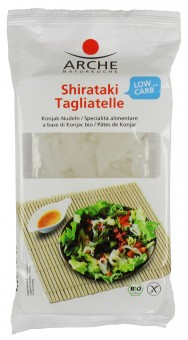 Bio Shirataki Tagliatelle, Konjak-Nudeln, glutenfrei, 294 g