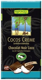 Bio Zartbitter-Schokolade Cocos-Creme, 100 g