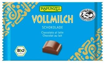 Bio Vollmilch Schokolade, 100 g