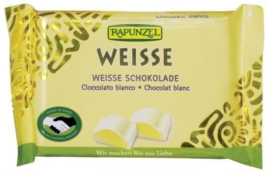 Bio Weisse Schokolade, 100 g