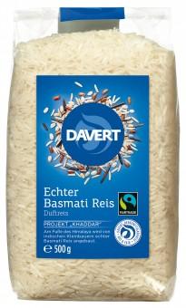 Bio Echter Basmati Reis, weiß 500 g