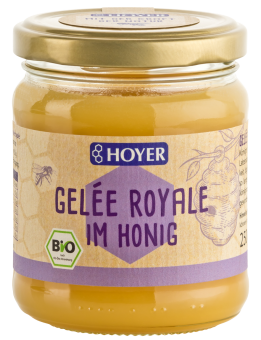 Bio Geleé Royale im Honig, 250 g