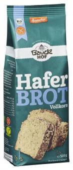 Bio Haferbrot Backmischung Vollkorn, glutenfrei, 500 g
