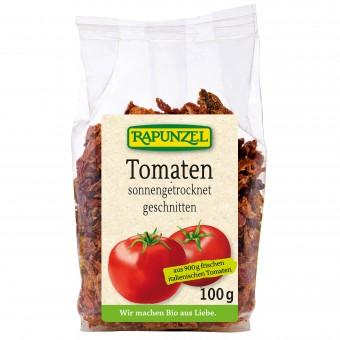 Bio Tomaten getrocknet und gewürfelt, 100 g