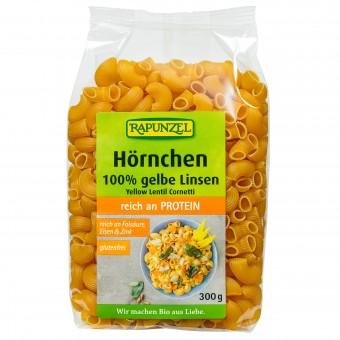 Bio Hörnchen - 100% gelbe Linsen, 300 g