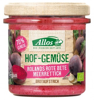 Bio Hof-Gemüse Rolands Rote Bete Meerrettich, 135 g