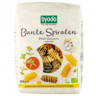 Bio Bunte Spiralen Pasta Superiore, semola, 500 g