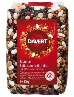Bio Bunte Hülsenfrüchte, 500 g