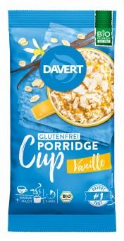 Bio Porridge Cup Vanille glutenfrei, 65 g