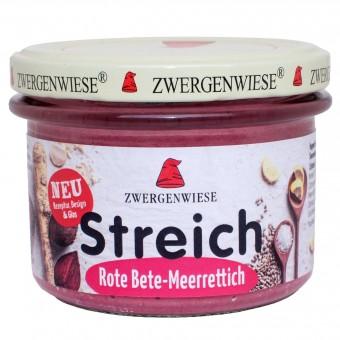 Bio Rote Bete-Meerrettich Streich, 180 g