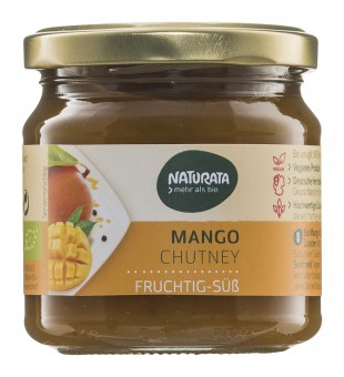 Bio Mango Chutney, 225 g