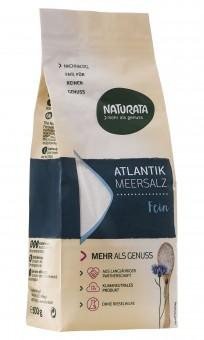 Atlantik-Meersalz fein (konv. Anbau), 500 g