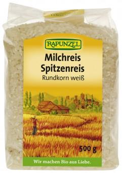 Bio Milchreis Spitzenreis Rundkorn weiß, 500 g