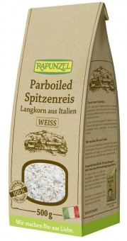 Bio Parboiled Spitzenreis Langkorn weiß, 500 g