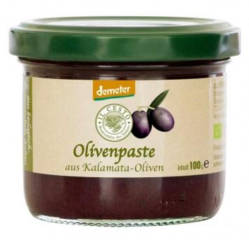 Bio Olivenpaste aus Kalamata-Oliven, 100 g