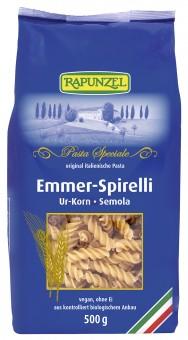 Bio Emmer-Spirelli Semola, 500 g