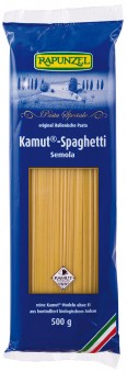 Bio Kamut® Spaghetti Semola, 500 g