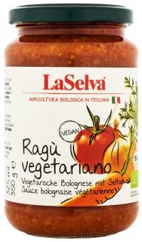 Bio Ragù vegetariano, vegetarische Bolognese mit Seitan, 350 g