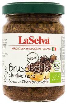 Bio Bruschetta alle olive nere, Oliven-Bruschetta, 130 g