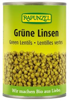 Bio Grüne Linsen, 400 g