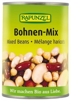 Bio Bohnen-Mix in der Dose, 400 g