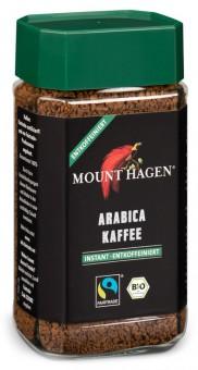 Bio Arabica-Kaffee instant, entkoffeiniert, 100 g - Mount Hagen