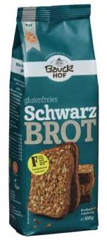 Bio Schwarzbrot Backmischung, glutenfrei, 500 g
