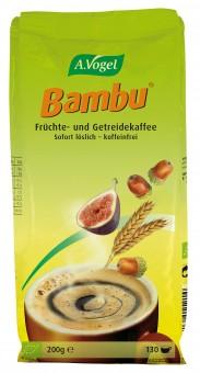 Bio Bambu Instant, Früchte- und Getreidekaffee, 200 g Nachfüllbeutel