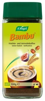 Bio Bambu Instant, Früchte- und Getreidekaffee, 100 g