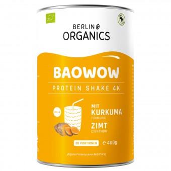 """Bio """"BAOWOW"""" veganes Protein Kurkuma-Zimt, 400g"""