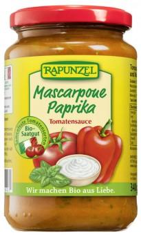 Bio Tomatensauce Mascarpone Paprika, 330 ml