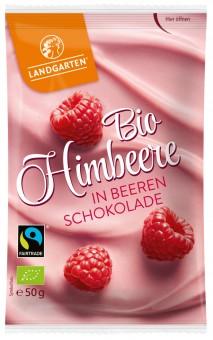 Bio Himbeere in Beeren-Schokolade, 50 g