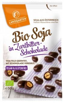 Bio Soja in Zartbitter-Schokolade, 50 g