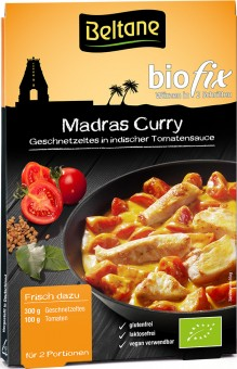 Bio Madras Curry , 19,68 g