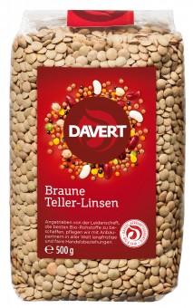 Bio Braune Teller-Linsen, 500 g