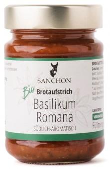 Bio Brotaufstrich Basilikum Romana, 190 g