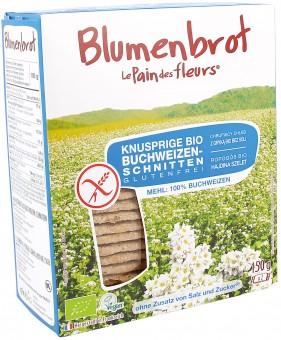 Bio Knusprige Buchweizen-Schnitten, glutenfrei, 150 g