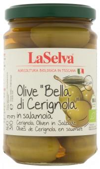 "Bio Olive ""Bella di Cerignola"", große grüne Oliven,  310 g"