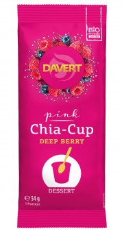 Bio Pink Chia-Cup Deep Berry, 34 g