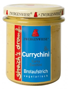 Bio Currychini (Curry Zucchini), 160 g