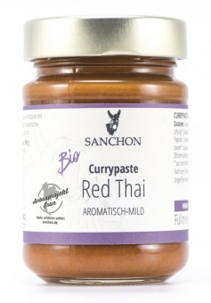 Bio Currypaste Red Thai, 190 g