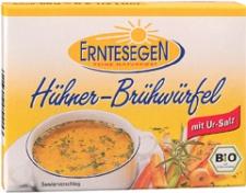Bio Hühner-Brühwürfel, 66 g