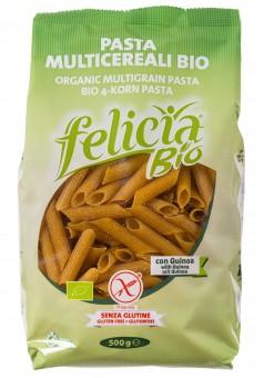 Bio 4-Korn Penne, glutenfrei, 500 g