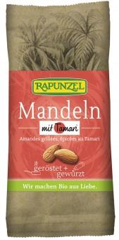 Bio Mandeln geröstet, mit Tamari gewürzt, 60 g