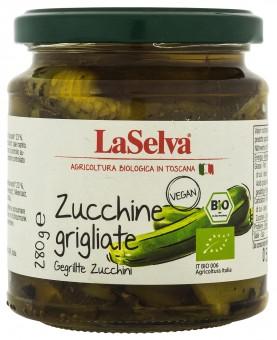 Bio Zucchini grigliati, Zucchini gegrillt in Olivenöl, 280 g