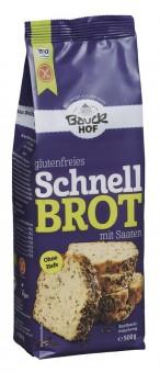 Bio Schnellbrot Backmischung mit Saaten, glutenfrei, 500 g
