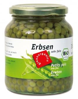 Bio Erbsen sehr fein, 350 g - Green