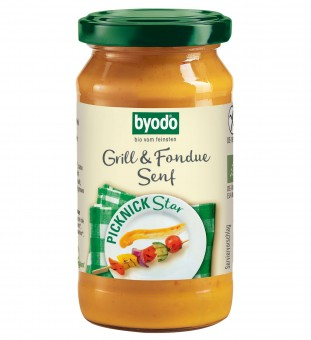 Bio Grill und Fondue Senf, 200 ml